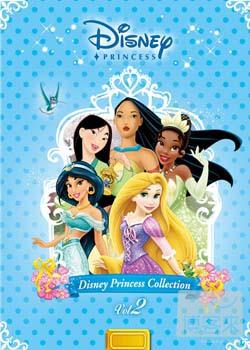 迪士尼公主典藏套裝 2 6DVD