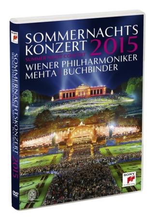 維也納愛樂 / 2015年維也納仲夏夜露天音樂會 DVD(Wiener Philharmoniker/ Summer Night Concert 2015)