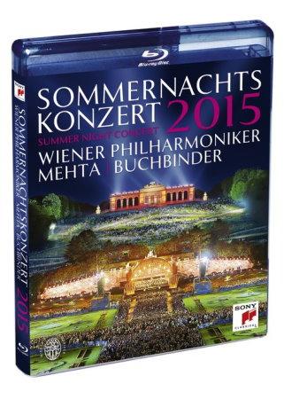維也納愛樂 / 2015年維也納仲夏夜露天音樂會 (藍光BD)(Wiener Philharmoniker/ Summer Night Concert 2015 (Blu-ray))