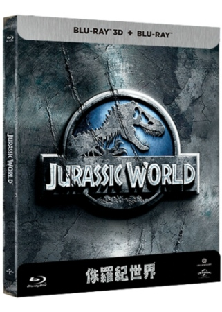 侏羅紀世界 鐵盒版 (2D+3D) (藍光BD)(Jurassic World)