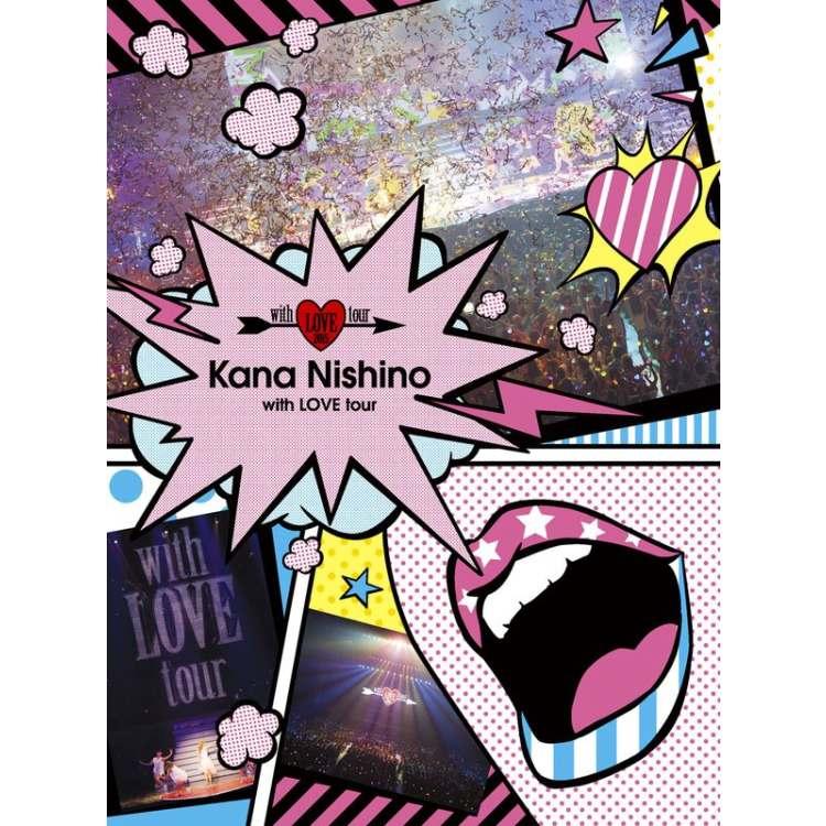 西野加奈 / 愛的陪伴巡迴演唱會 (2DVD初回盤)(Nishino Kana / with LOVE tour)