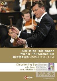 提勒曼指揮貝多芬第四~六號交響曲&紀錄片/ 提勒曼(指揮)維也納愛樂管弦樂團 (台壓版, 有中文字幕) 3DVD Beethoven: Symphonies Nos. 4~6 (with documentaries) / Thielemann, Vienna Philharmonic Orchestra