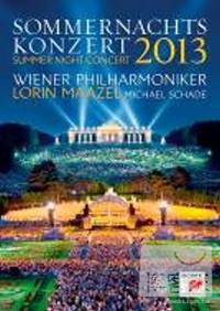 維也納愛樂 / 2013年維也納仲夏夜露天音樂會 DVD(Wiener Philharmoniker / Summer Night Concert 2013)