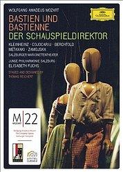 莫札特:歌劇《巴斯汀與巴斯汀娜》、《劇院經理》DVD(MOZART: Bastien und Bastienne / Der Schauspieldirektor DVD)