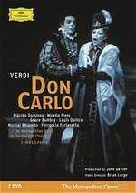 威爾第:唐.卡羅/ 李汶指揮 2DVD(Verdi :Don Carlo/ Levine 2DVD)