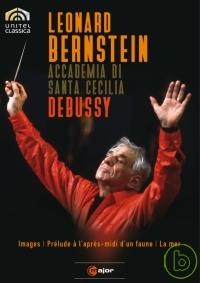 伯恩斯坦在羅馬~演奏德布西管弦樂作品/ 伯恩斯坦(指揮)羅馬國立聖西西里亞學院管弦樂團 DVD Debussy: Orchestral Works/ Bernstein, Orchestra dell'Accademia Nazionale di Santa Cecilia