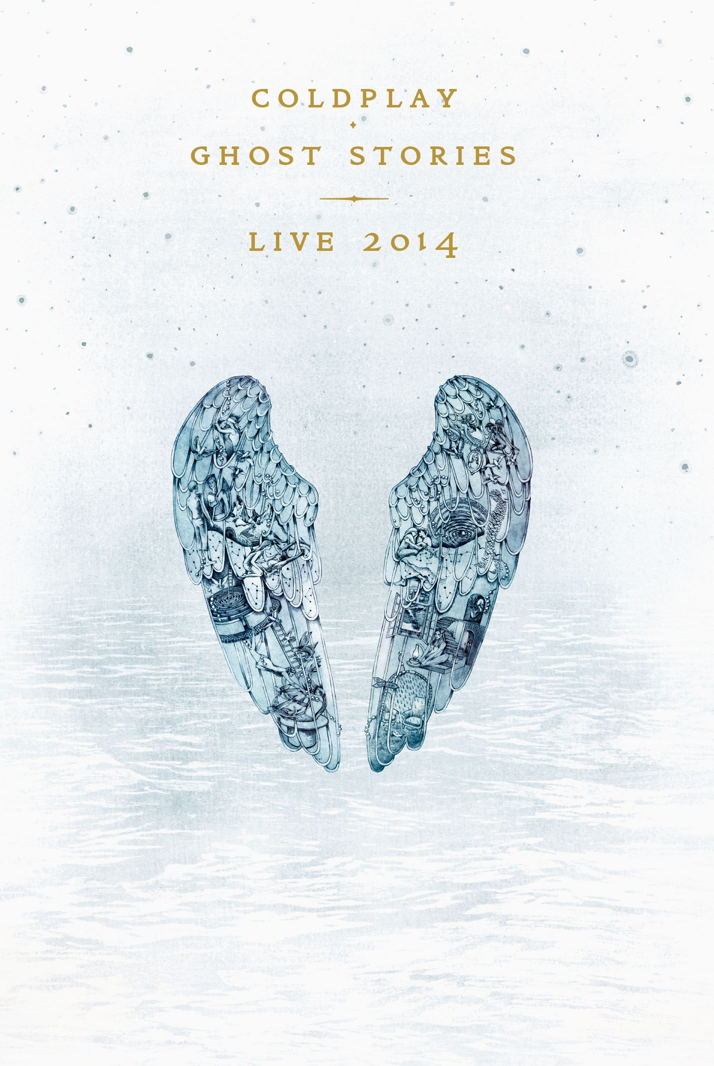 酷玩樂團 / 鬼故事 現場影音實錄 DVD+CD(COLDPLAY / GHOST STORIES LIVE 2014(DVD+CD))