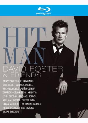 大衛佛斯特與好友們的音樂饗宴 (藍光BD) HIT MAN DAVID FOSTER AND FRIENDS (BLUE-RAY DVD)