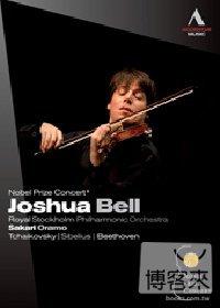 2010年諾貝爾獎音樂會:約夏貝爾之夜 / 約夏貝爾(小提琴)、歐拉摩(指揮)瑞典皇家斯德哥爾摩愛樂管絃樂團 DVD NOBEL PRIZE CONCERT 2010 - Joshua Bell / Joshua Bell(violin), Oramo(conductor), Royal Stockholm Philharmonic Orchestra