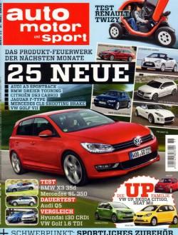 auto motor und sport 5月3號 / 2012 auto motor und sport 5月3號 / 2012
