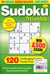 Sudoku Monthly 82期 Sudoku Monthly 82期