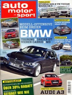 auto motor und sport 5月18號 / 2012 auto motor und sport 5月18號 / 2012