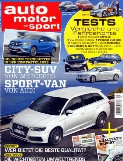 auto motor und sport 4月5號 / 2012 auto motor und sport 4月5號 / 2012
