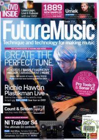 Future Music 12月號 / 2010 + DVD Future Music 12月號 / 2010 + DVD