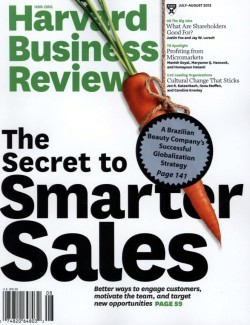 HARVARD BUSINESS REVIEW 07-08/2012