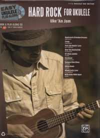 簡易烏克麗麗吉他譜附CD:重搖滾篇 Ez Play-Along/HARD ROCK For Ukulele +CD